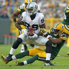 james jones fumble twice one play oakland raiders