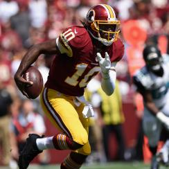 Robert Griffin III left ankle injury washington redskins