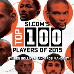 SI.com's Top 100 NBA players of 2015