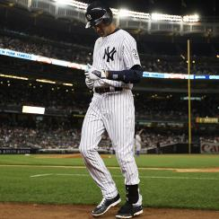 Derek Jeter went 2-for-4 with a home run in the opening game of his final homestand.