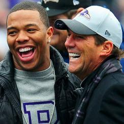 Ray Rice Steve Bisciotti Baltimore Ravens