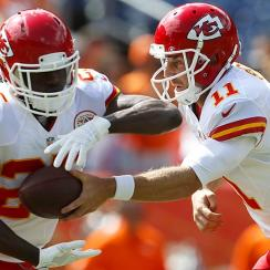 Jamaal Charles' high ankle sprain has him questionable for Week 3, which means owners may have to take a gamble on him.