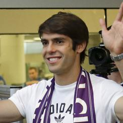 Kaka, who has played for A.C Milan and Real Madrid over the course of his career, signed with Orlando City SC for the club's entry into MLS starting next season.