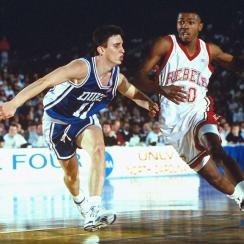 UNLV's loss to Duke in the 1991 Final Four was one of the NCAA tournament's most stunning upsets.