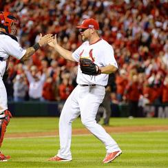 Trevor Rosenthal Yadier Molina Cardinals NLDS Game 3