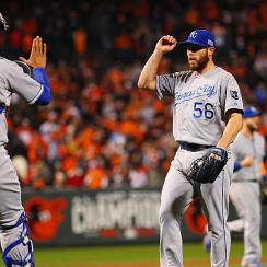 The Royals utilized timely hitting again to win their sixth consecutive postseason game and take a 2-0 ALCS lead over the Orioles.