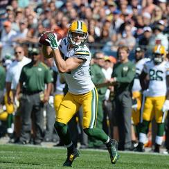Green Bay Packers' Jordy Nelson ranks second in points scored for all fantasy wide receivers, behind Antonio Brown.