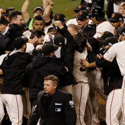 The San Francisco Giants won the World Series on Travis Ishikawa's walk-off home run.