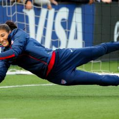 Hope Solo continues to play for the U.S. women's national team despite being involved in an ongoing domestic violence case.
