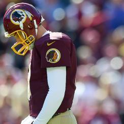 Washington Redskins bench Kirk Cousins for Colt McCoy in NFL Week 7