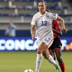 U.S. women's national team midfielder Lauren Holiday has proven to be a versatile piece for manager Jill Ellis.