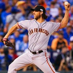 Madison Bumgarner Giants World Series Game 1