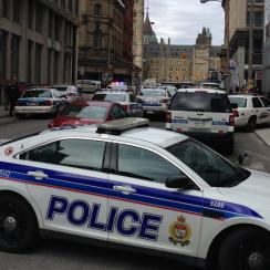 A shooting in Ottawa has forced the NHL to postpone a game between the Ottawa Senators and Toronto Maple Leafs.