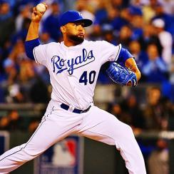 Kelvin Herrera Royals World Series Game 2