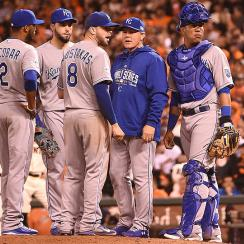 The Royals are 10-1 this postseason under manager Ned Yost.