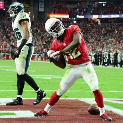 NFL Week 8: John Brown's 80-yard touchdown helps Arizona Cardinals beat Philadelphia Eagles 24-20
