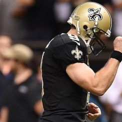 Brees, Saints show they're not dead yet in big romp of Packers