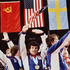 Mike Eruzione, U.S. Olympic hockey team