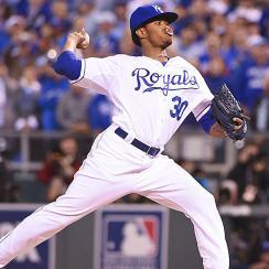 Yordano Ventura World Series Game 6 win