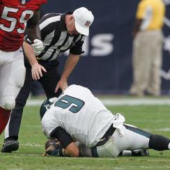 Philadelphia Eagles Nick Foles broken collarbone