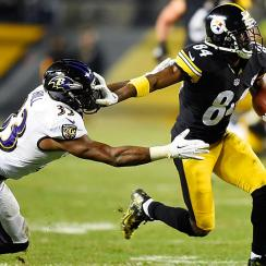 Antonio Brown Steelers vs. Ravens
