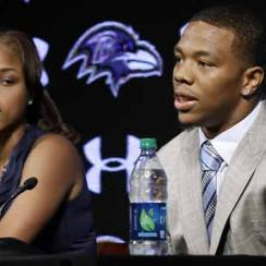 Ray Rice and Janay Parker