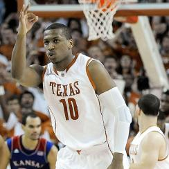 Jonathan Holmes will be one-third of a dynamic frontcourt for Texas this season.