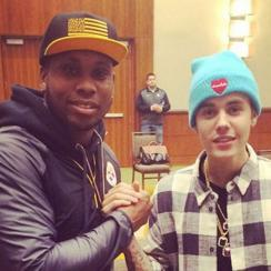Steelers Justin Bieber