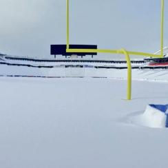 Buffalo Bills Ralph Wilson Stadium snow