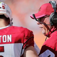 Bruce Arians, Drew Stanton leading Arizona Cardinals to top