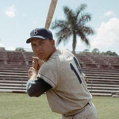 Gil Hodges, Brooklyn Dodgers