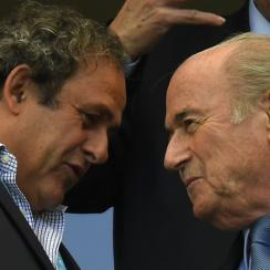 The relationship between UEFA president Michel Platini, left, and FIFA president Sepp Blatter, right, is one rife with conflicts.