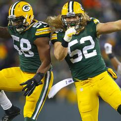 NFL Week 13 Snaps Clay Matthews Sam Barrington