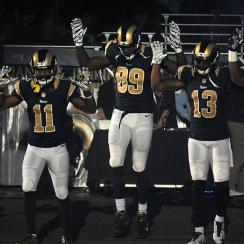 St. Louis Rams 'Hands Up, Don't Shoot'