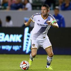 LA Galaxy forward Robbie Keane has been named the 2014 MLS MVP.