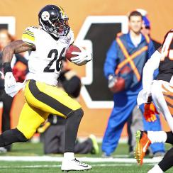 Fantasy football Week 14 Fast Forward: Pittsburgh Steelers running back Le'Veon Bell has huge day against Bengals