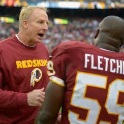 London Fletcher Jim Haslett Washington Redskins defensive coordinator