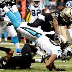 New Orleans Saints, Carolina Panthers fight, brawl in NFC South game