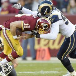 St. Louis Rams post back-to-back shutouts for the first time since 1945