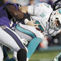 NFL Week 14 winners and losers: Elvis Dumervil, Julio Jones set franchise records