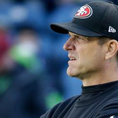 Jim Harbaugh 49ers