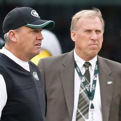 New York Jets Rex Ryan and John Idzik