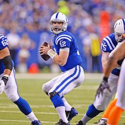 2015 NFL playoffs: Andrew Luck, Indianapolis Colts drop Cincinnati Bengals