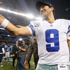 """Romo shakes off """"choker"""" label, engineers comeback to trump Lions"""