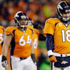 Peyton Manning falls victim to Father Time as Denver Broncos lose to Indianapolis Colts