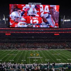 at&t stadium ohio state oregon
