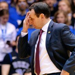 Duke falls to Miami Coach K home winning streak