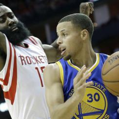 James Harden; Steph Curry