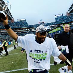 Seattle Seahawks Russell Wilson