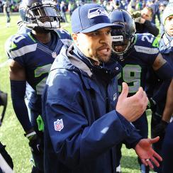2015 Super Bowl: Seattle Seahawks DBs coach Kris Richard leads LOB